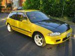 Highlight for Album: SOLD - Yellow EG6 Honda Civic SIR2