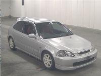 Highlight for album: 1997 EK9 Honda Civic Type R RARE SILVER NH538M